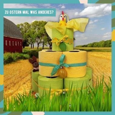 Toilettenpapier-Rollen-Torte