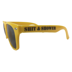 Shit & Shower Sonnenbrille gelb