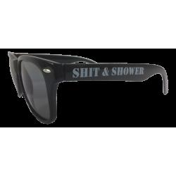 Shit & Shower Sonnenbrille schwarz