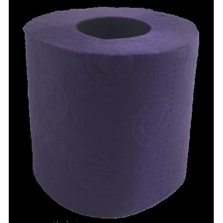 Toilettenpapier lila
