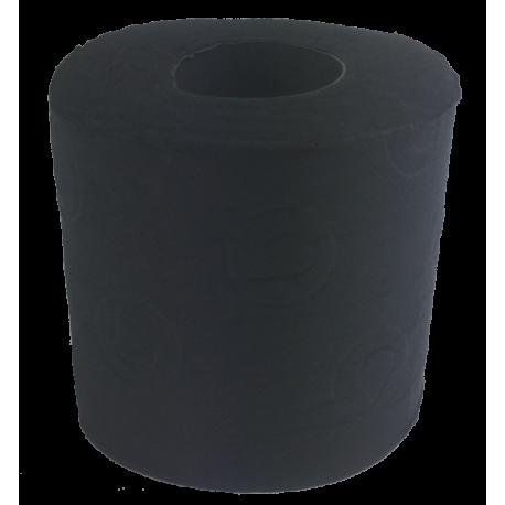 Toilettenpapier schwarz